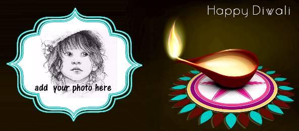 Happy Diwali - Diya with Rangoli [Ver. 4] Coffee Mug