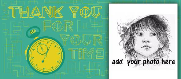 Thank You for Your Time - Green Coffee Mug